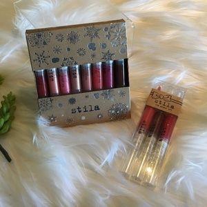 Stila Lip Glaze sets; New